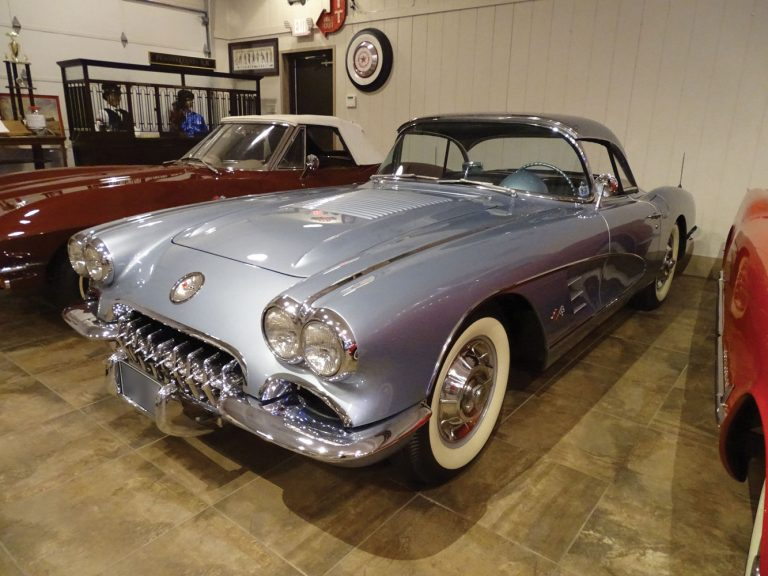 1958 Corvette Convertible 2