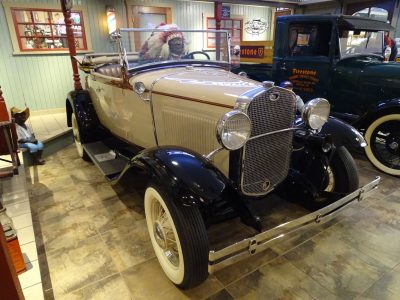 1931 Ford Model A Roadster 2