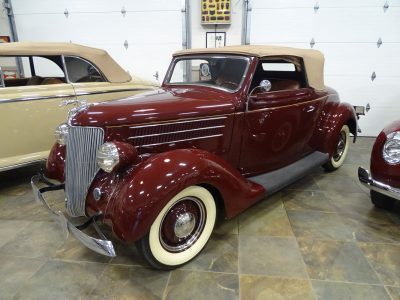 1936 Ford Convertible 2