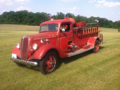 1937 Ford Fire Truck 1