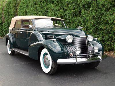 1940 Cadillac Series 75 Convertible 1