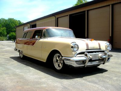 1955 Pontiac Safari Modified 1